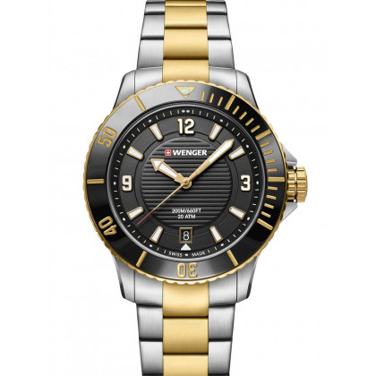 Wenger 01.0621.113 Seaforce Donna Orologio subacqueo 36mm 20 ATM