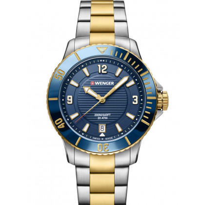 Wenger 01.0621.114 Seaforce Donna Orologio subacqueo 36mm 20 ATM