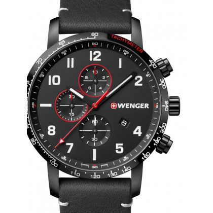 Wenger 01.1543.106 Attitude Chonograph 44mm 10ATM