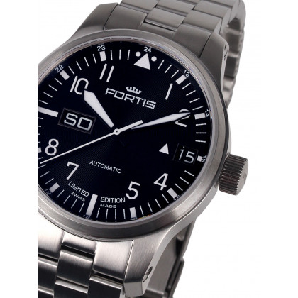 Fortis 700.10.81 M F-43 Flieger Big Giorno-Data 43 mm 20ATM