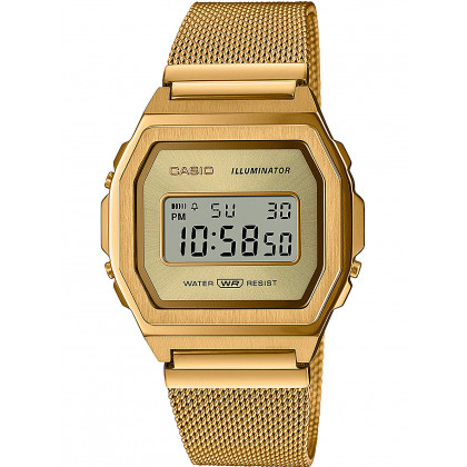 Casio A1000MG-9EF Vintage Iconic 38mm