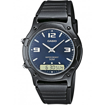 Casio AW-49HE-2AVEG Collection uomo 38mm 5ATM
