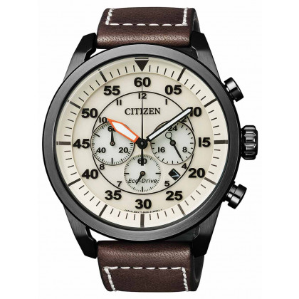 Citizen CA4215-04W Eco-Drive Sports Cronografo 45mm 10ATM