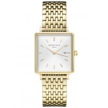 Rosefield QWSG-Q09 The Boxy Orologi da donna 26mm 3ATM