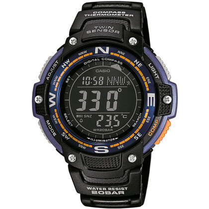 Casio SGW-100-2BER Collection uomo 48mm 20ATM