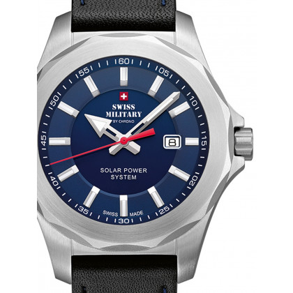 Swiss Military SMS34073.05 Solare Uomo 42mm 10ATM